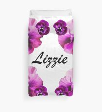 Personalised flowers Duvet Cover
