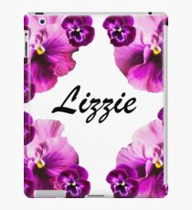 Personalised flowers iPad Case/Skin