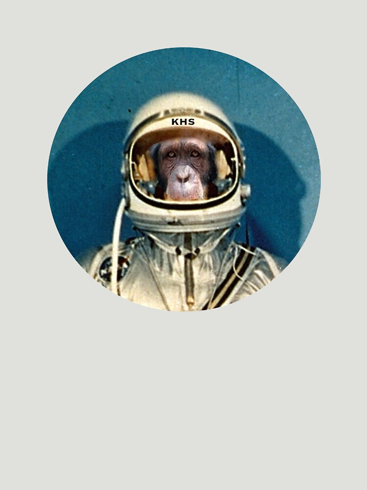 Mercury Chimp by SaintBigfoot