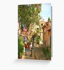 Grimaud France Greeting Card