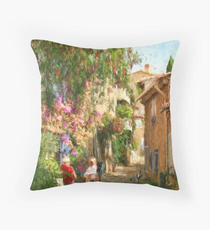 Grimaud France Throw Pillow