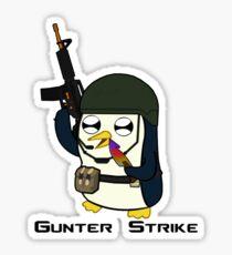 Gunter Strike  Sticker