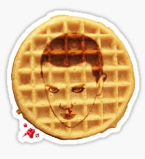 11 WAFFLES Sticker