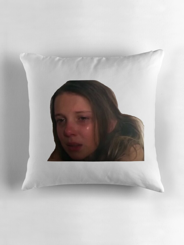 Millie bobby brown crying meme sticker by jolovesjeonghan