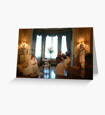 Relaxing olden times Greeting Card