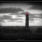 Muskegon Lighthouse/s in Select Color by Deb  Badt-Covell