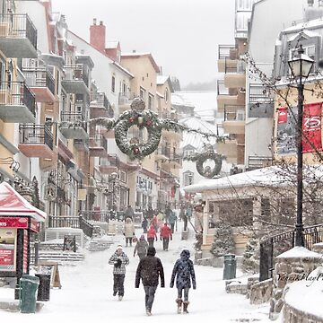 Snowy Day in Tremblant by Photograph2u