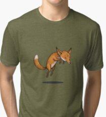 Winter fox Tri-blend T-Shirt