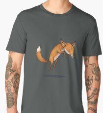Renard d'hiver Men's Premium T-Shirt