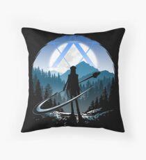Kite Hunter Throw Pillow