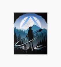 Kite Hunter Art Board Print