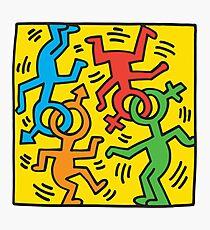 NYC Pride (Keith Haring)  Photographic Print