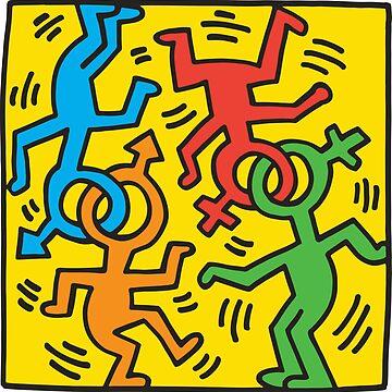 NYC Pride (Keith Haring)  by RetroPops