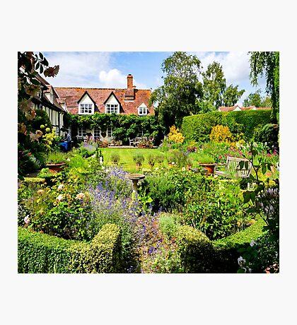 Cottage garden. Photographic Print