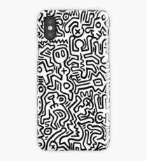 Mural (Keith Haring) iPhone Case/Skin