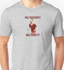 KEINE ROONEY KEINE PARTY Slim Fit T-Shirt