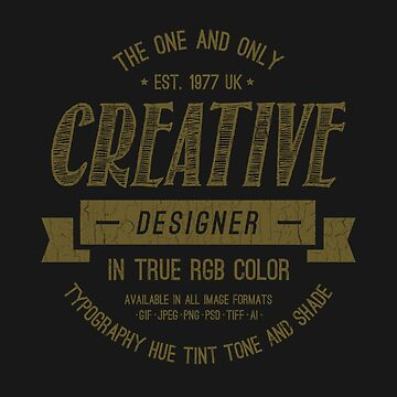 Vintage: Creative Designer Label by biglime
