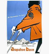 Arapahoe Basin, Skiposter Poster