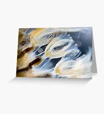 Bryozoa Greeting Card