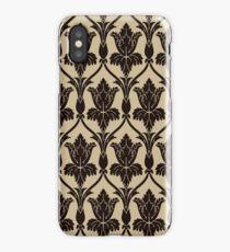 Baker Street 221b Wallpaper iPhone Case