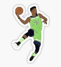 Jimmy Butler Wolves Sticker