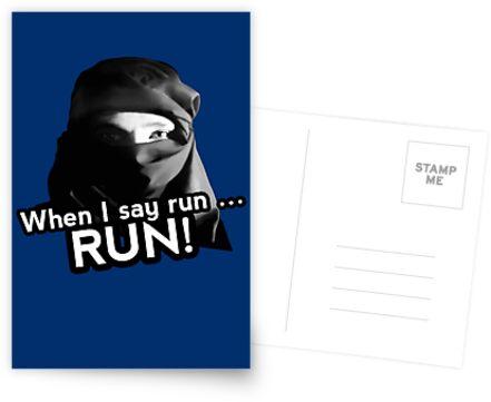 When I say run … RUN! by AAA-Ace