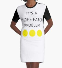 A Three Patch Problem Graphic T-Shirt Dress