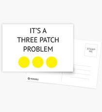 A Three Patch Problem Postcards
