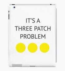 A Three Patch Problem iPad Case/Skin