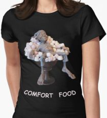 Comfort Food Womens Fitted T-Shirt