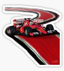 Ferrari SF15-T - Seb5 Sticker