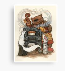 Barney Brown and Friends Canvas Print