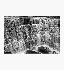 Waterfall frozen in time Photographic Print