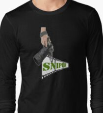 TOP T-SHIRT XW181 Sniping Photographer Best Product Long Sleeve T-Shirt