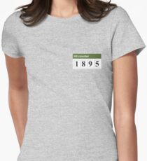 1895 Hit counter Women's Fitted T-Shirt