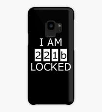 I am 221b locked Case/Skin for Samsung Galaxy