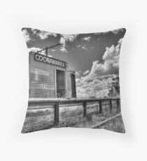 Once was a Station.... Throw Pillow