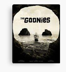 The Goonies Artwork Canvas Print