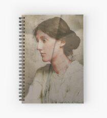 Virginia Woolf - Textur Spiralblock