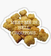 Croutons Sticker