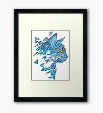 polycat Framed Print