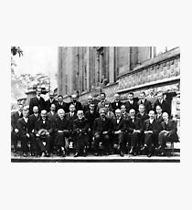The Solvay Conference 1927  Photographic Print