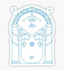 Gate to Moria Sticker