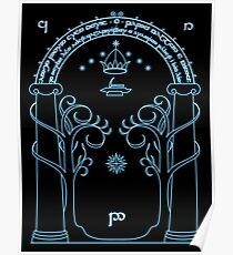 Gate to Moria Poster