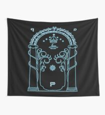 Gate to Moria Wall Tapestry