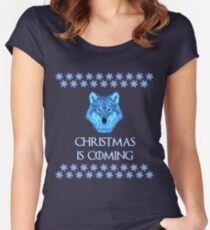 Ugly Christmas Sweater Women's Fitted Scoop T-Shirt