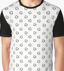 penguin print Graphic T-Shirt