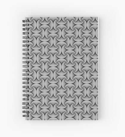 Repeating Tile pattern  Spiral Notebook