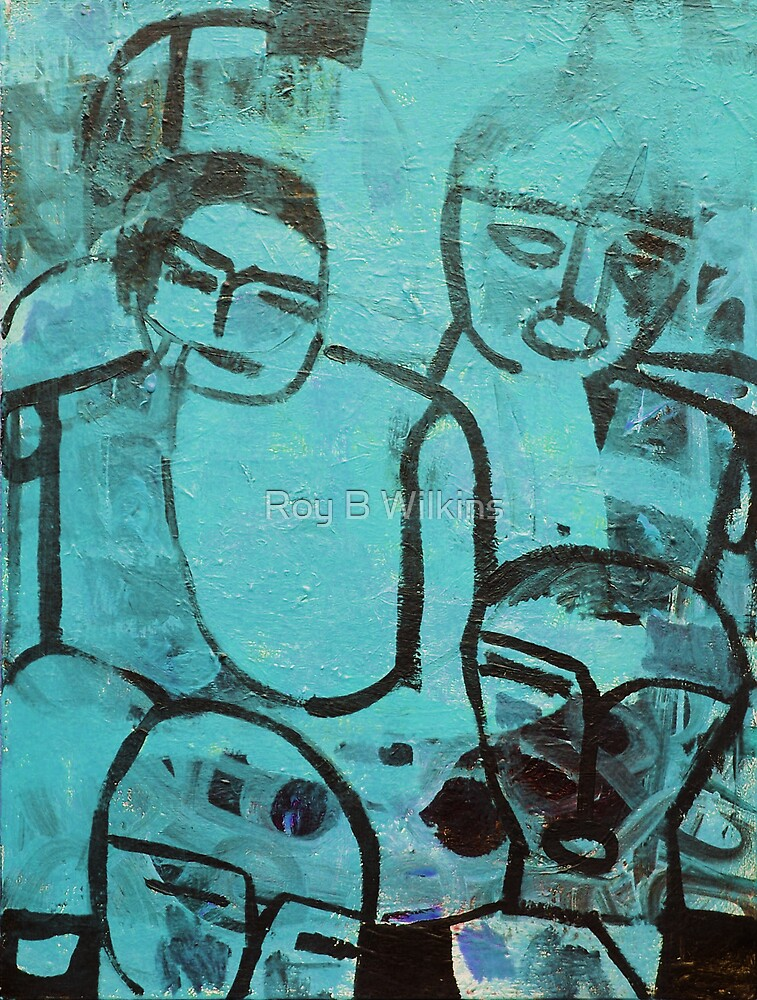 Turquoise People by Roy B Wilkins