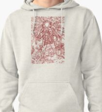 The Thing - Lines & Layers Blood Red Pullover Hoodie